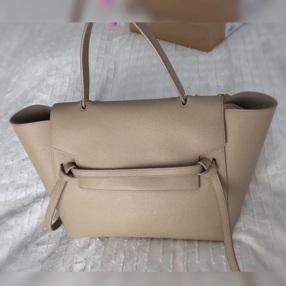 b8c7daa6d71c Celine Handbags - Celine Mini Belt Bag Purse - Dune   Nude Leather